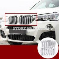 Pour BMW X3 F25 ABS calandre Grille moulure de couverture 2011-2017 14pcs