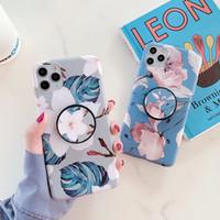Moda Fiore Patterns Phone Case for iPhone 11 8 casi di telefono Pro MAX XR 7 6S più caldo di vendita TPU con staffa