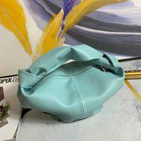 bag Nuovo colore nuvola annodatura borsa corno di bue sacchetto di caramelle di cuoio portatile delle donne all'inizio dell'autunno del 2020