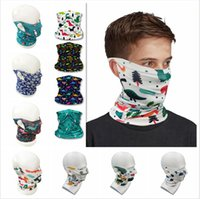 Kid Bandanas Scarf Magic Face Neck Gaiter Tube Dustproof Ban...