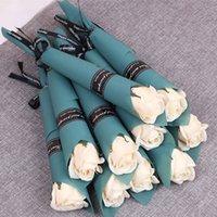 Cadeau Saint Valentin pour Girlfriend Souvenirs Fleur Savon Cadeaux de mariage pour les clients de cadeau Une fille de partie de demoiselles d'honneur Favors