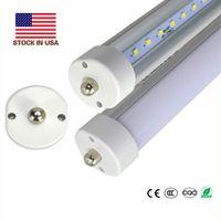 8 lampadina LED T8 piede leggero 8ft LED singolo Pin Fa8 V forma di tubo SMD2835 45W 72W LED lampada fluorescente azione negli Stati Uniti