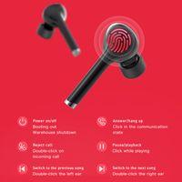 TW12 TWS Bluetooth V5.0 Earphones Wireless Fingerprint Touch headphones HD Stereo Sport Headset Noise Cancelling Gaming Headset