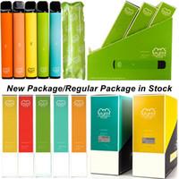 Neue Puff Plus-Einweg-Gerät Pod Tauchplus-Starter-Kits vorgefüllt 3,2-ml-Patronen-Kartons 550mAh leere Vape-Stifte mit Scratch-Code