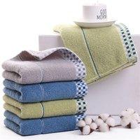Mode weiches Gesicht Handtuch BaumwollPlaid-Designer Handtücher Hotels Handtuch Geschenk saugt Schweiß Handtücher Unisex Hair Handtuch
