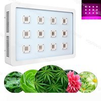 Full Spectrum Led Grow Lights 3600W X12 COB Aluminium Double Switch For Plant Indoor Outdoor Hydroponic Greenhouse Lighting DHL
