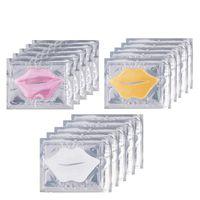 Vente chaude Collagen Masque à lèvres Combinaison 3 Types Hydratant Nourrissant Nourrissant anti-rides Amélioration des lèvres Lèvres Soins