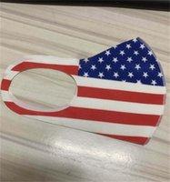 ABD Ulusal Bayrak mascarilla Respiratörü Yeniden kullanılabilir Bezi Özel Yıldız Nefes Yüz Maskeleri Kül Kanıtı Yıkanabilir Moda 2 2BJ C2