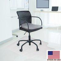 горячие 90 х 120 х 0.2cm ПВХ для домашнего использования защитного коврик для прокладки прозрачной защиты пола стула прозрачных ковриков подушки для ковров