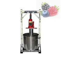 Коммерческий фруктовый сок Холодный пресс Juicing машина 304 из нержавеющей стали Джек Руководство Grape Целлюлозно Соковыжималка машина