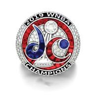2020 Wholesale Washington Mystics 2019-2020 WNBA Championnat Bague Tideholiday Cadeaux pour amis Taille 1