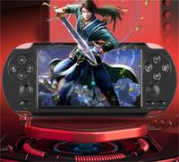 Neue heißes Coolbaby X9 5inch großer LCD-8gb Hand Retro Spielkonsole Can Speicher Video-MP3-Player für GBA NES-Spiel-Spieler