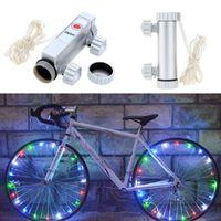 (20) LED 자전거 빛 산악 자전거 라이트 자전거는 휠 램프 자전거 액세서리 하늘에 불빛이 주도 Bicicleta Bisiklet Aksesuar 스포크