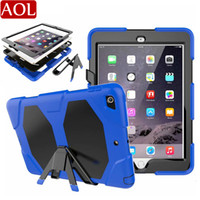Heavy Duty Rugged Impact Hybrid Case For new iPad 2 3 4 air ...