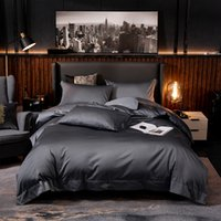 White Grey Hotel Quality Silky Soft Egyptian Cotton Bedding ...