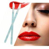 50 Pcs descartável Cosmetic Lip escova de cílios cleaner Mascara Wands Eyeshadow Aplicador Acessórios Maquiagem