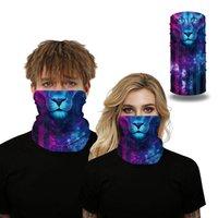 Ciclagem Caps Máscaras Digital Impressão Ao Ar Livre Inseto Inseto Cabeça de Proteção Cachecol Seamless Magic Scrf Respirável Riding Face Capa 1 Pcs
