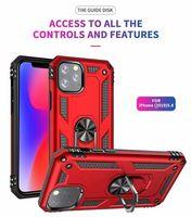 Для iPhone6 / 6S 6PLUS / 6S PLUS X / XS XR XS MAX 11PRO / 11PRO MAX Военная анти-падение защиты от магнитного кольца Крышка чехол для телефона