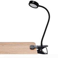 USB Karartma BRELONG 1 adet LED Göz Klip Klip Masası Lambası Okuma Dolgu Işığı Üçüncü seviye Powered