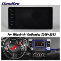 سيارة الروبوت سيارة GPS لميتسوبيشي أوتلاندر 2006-2013 راديو CD DVD لاعب GPS نافي خرائط عالية الدقة تعمل باللمس ستيريو وسائل الإعلام TV الوسائط المتعددة 4tup #