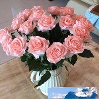 Haute caoutchouc sensation hydratante rose artificielle maison de fleur salon décoration bricolage fausse fleur mariage bouquet accessoires de scène photo