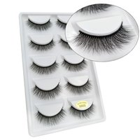 G800- 807 Wholesale Cheap Price Lashes 5 Pairs Synthetic Hair...