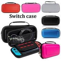 Lleva la caja caja con la manija para el bolso Interruptor Nintendo consola de juegos protector duro EVA dura protectora del caso del recorrido Estuche Epacket o DHL