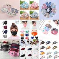 Kid reutilizáveis máscara facial máscaras PM2.5 máscara facial crianças dos desenhos animados com a respiração válvula crianças máscara de pó XD23756