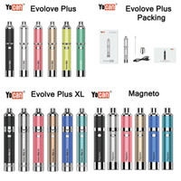 Authentique Yocan Evolve Plus XL 1100mAh 1400mAh Batterie Yocan Magneto Torch protable Nail Starter Kit Dry Wax Herb Vaporizer huile-cire Atomiseur