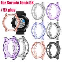 ТПУ Часы Чехол для Garmin Fenix 5X / 5X плюс защитный бампер Защитные пленки