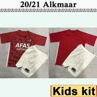 2020 2021 AZ Alkmaar Enfants Kit SSoccer Maillots New DE WIT STENGS Boadu Evjen Clasie Accueil Football Shirt Camisetas de futbol Uniformes enfants