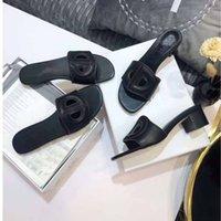 النعال شقة أسفل الصنادل جوفاء مصمم أزياء نمط حقيقية جلدية جديدة السيدات إلكتروني فريد اللباس البرية مثير الكعب العالي مع مربع