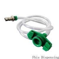 Pack de 10 Japanese Style Distribuição ponta da agulha pneumática Seringa Barrel Adapter dispensação Seringa