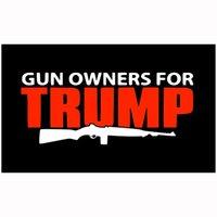 Prezzo di fabbrica all'ingrosso 100% poliestere 90 * 150cm 3x5 FTS Gun Proprietari per Bandiera Trump per la decorazione all'ingrosso Prezzo di fabbrica