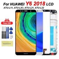 Для Huawei Y6 2018 ЖК-экран Y6 премьер 2018 года ATU-L11 / L21 / L22 / LX1 / LX3 / L31 / L42 с Прикосновение с рамкой Ассамблеи
