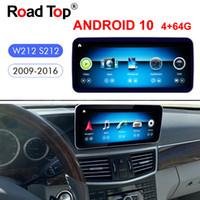 """10.25 """"Qualcomm Android 10 per Mercedes Benz E classe W212 S212 2009-2016 Auto Radio GPS Navigazione Bluetooth WiFi head Schermo"""
