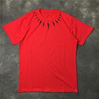 أزياء رجالي تي شيرت الشارع الشهير الرجال النساء الهيب هوب قصيرة الأكمام رجل مصمم المحملات أسود أحمر أبيض الحجم S-XL
