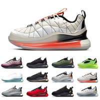 nike Air Max  720-818 airmax Black Magma 720-818 Mens Running shoes Metallic Silver Bullet Clean White Aqua CNY 720s Men Women Athletic Sports Designer sneakers Stock X