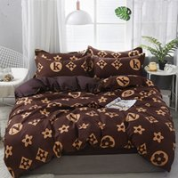 مجموعة مفروشات 21style ورقة السرير المخدة حاف الغطاء مجموعات شريطية الألوة القطن السرير مجموعة منتجات المنسوجات المنزلية 45YD #