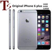 Recuperado Original da Apple iPhone 6 Plus com impressão digital 5.5 polegadas A8 16/64 / 128GB ROM IOS 8.0MP Desbloqueado LTE 4G Telefone