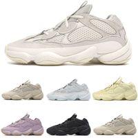 Verkaufs-neue Blush Stein Soft-Vision-Kanye 500 Laufschuhe für Männer Frauen Desert Rat Knochen weiß Sport-Turnschuhe Trainer Männer