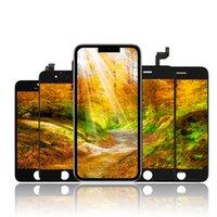 고휘도 학년 +++ 아이폰 5S 6 6S 7 8 PLUS X XR XS 최대 LCD 터치 디스플레이 스크린 디지타이저 전체 회의