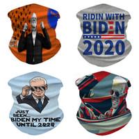 EEUU Stock! Biden Mascarilla de ciclo anti-polvo Máscaras reutilizables de algodón unisex Biden 2020 Máscara Máscara lavable Boca