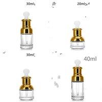 Vetro Trasparente contagocce spalla Stock Solution Mug Lozione Prefume Coppa di alta qualità piatto in gomma testa del filtro Plug 1 98yb B2