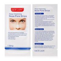 SACE LADY SCHWARZ DOTS MASK Nasenstreifen Blackhead Remover Nasal Aufkleber Blatt Maske für Gesicht Schwarz Kopf Nase Tiefreinigung Hautpflege