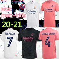 2020 2021 REAL MADRID jerseys 20 21 soccer jersey HAZARD SER...