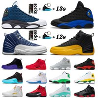 air jordan retro 12 Frauen Männer JUMPMAN 12s aj Basketball Schuhe 13 XIII Flint 13s BULLS XII BORDEAUX Lakers 2020 Neuzugang University Gold Sneakers Trainer Größe US 13