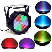 127led المهنية الخفيفة الاسمية RGB LED ضوء المرحلة تأثير الضوء 7CH LED أضواء الاسمية ديسكو DJ
