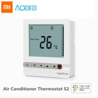 Xiaomi Aqara EigenStone Smart Air Conditioner Thermostat S2 Cooling Heating For Central Air Conditioning Fan Temperature Control