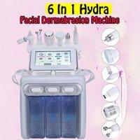 1 hidrolik yüz dermabrazyon makinesi su oksijen jeti deskuamasyon Hydra deri yıkama yüz güzelliği, derin temizleme RF yüzü sıcak satış 6